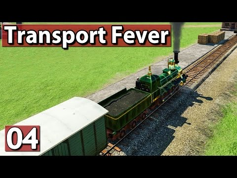 Der Lebensmittelzug ► Transport Fever Gameplay deutsch #4 PREVIEW ►