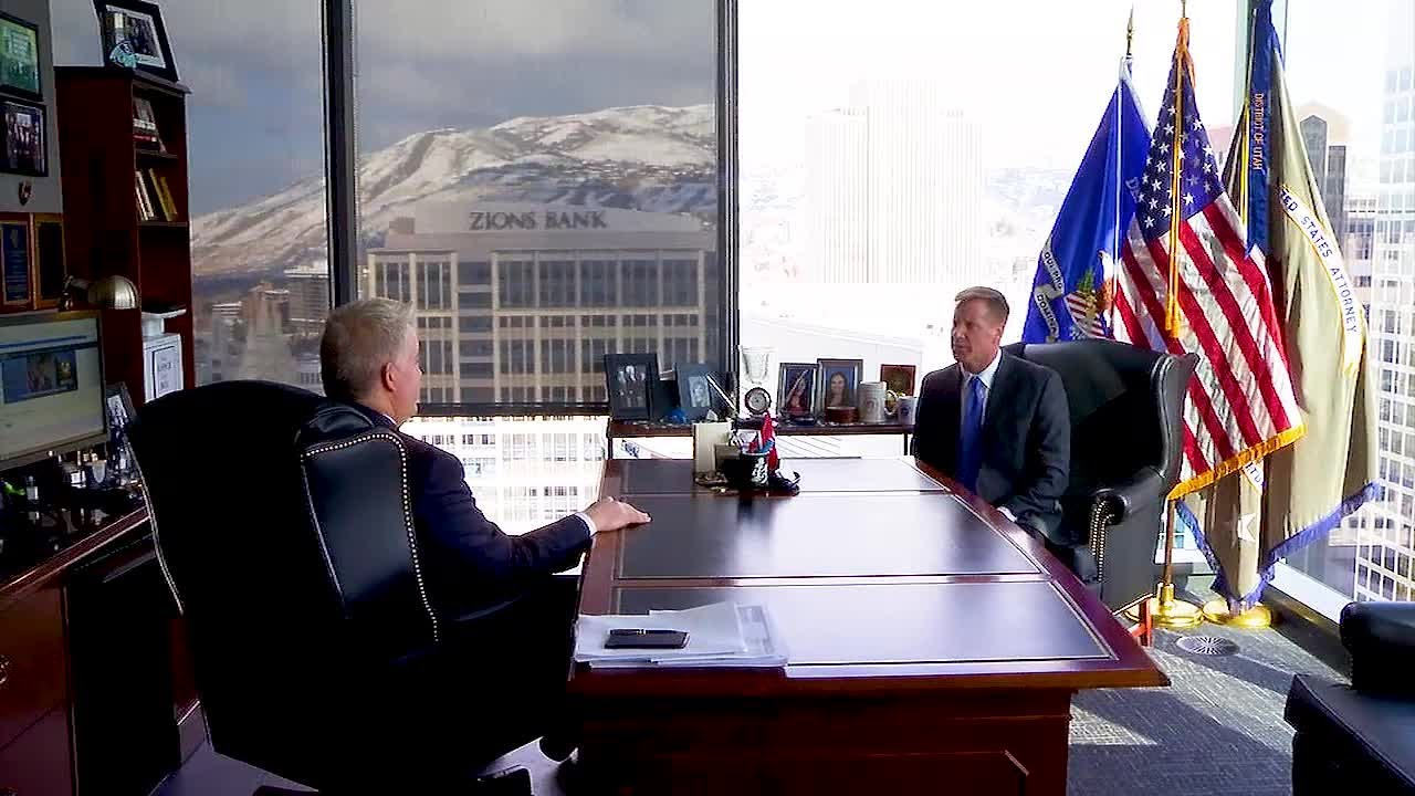 Behind the Badge - Web Extra - U.S. Attorney John Huber talks about fighting crime in Utah