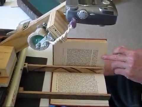 Diy Book Scanner Monson S Sticks