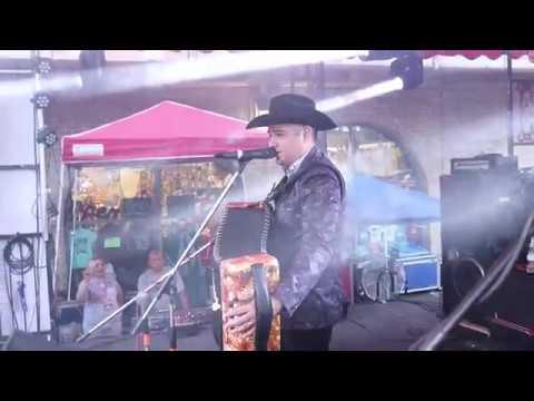 Lucky Joe at the 2018 Tejano Music Awards Fan Fair in San Antonio, Texas