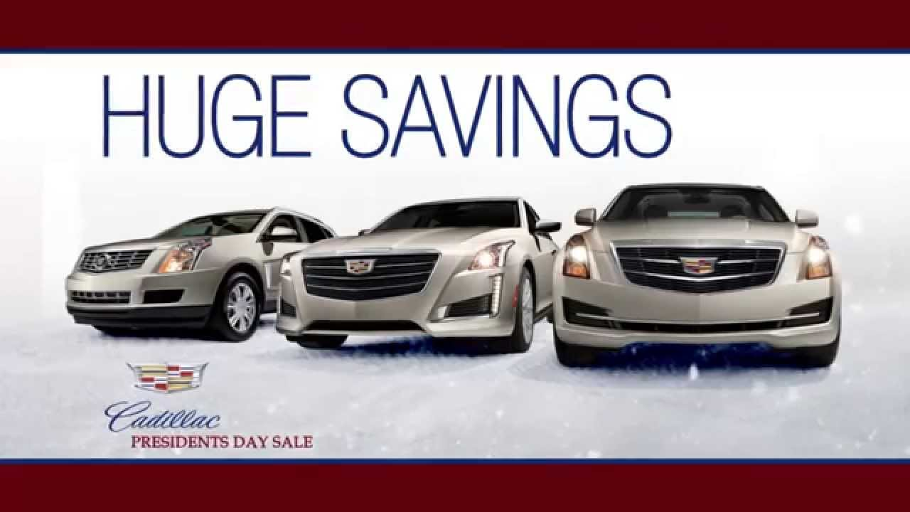 Bergstrom Cadillac Presidents Day Sales Event - YouTube