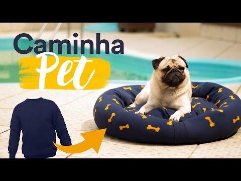 DIY - Caminha PET com MOLETOM