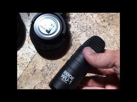 New RØDE WU-1 Microphones!