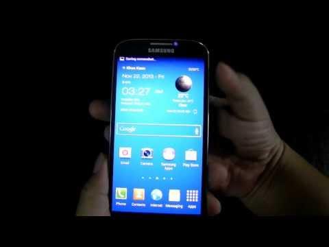 2 วิธีถ่ายหน้าจอ Samsung Galaxy S4 ง่ายๆไม่ต้องลง Apps | S4 screen capture
