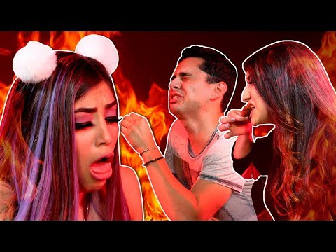 VIDEO: Las Hermanas Zúñiga VS El reto más picoso del mundo