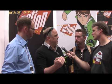 Man of Action Studios Interview at New York Comic Con 2012