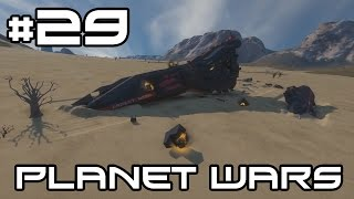 Space Engineers Planet Wars - A New Survivor! #29