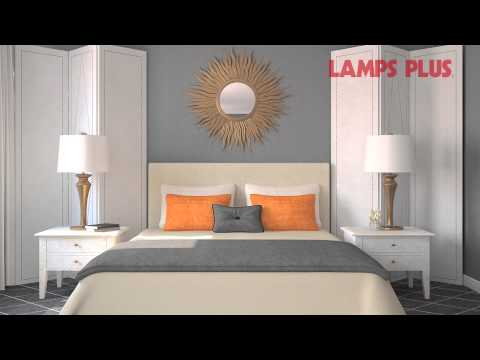Bedroom Interior Design ideas - Decorating the Wall Behind Your Bed - Lamps Plus