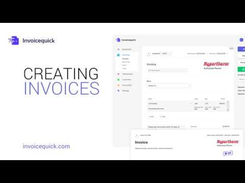 Creating Invoices - Invoice Quick - YouTube