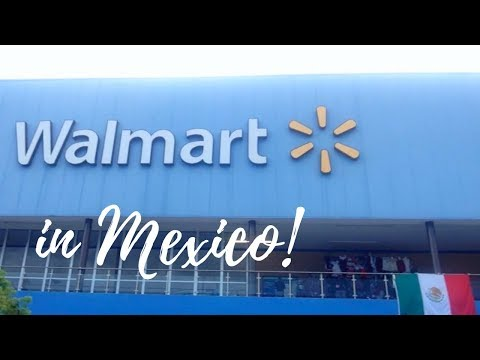 Walmart In Mexico // Everyday Shopping