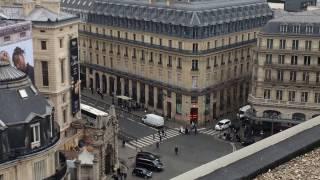 ギャラリーラファイエット パリ Galeries Lafayette 屋上からの眺め