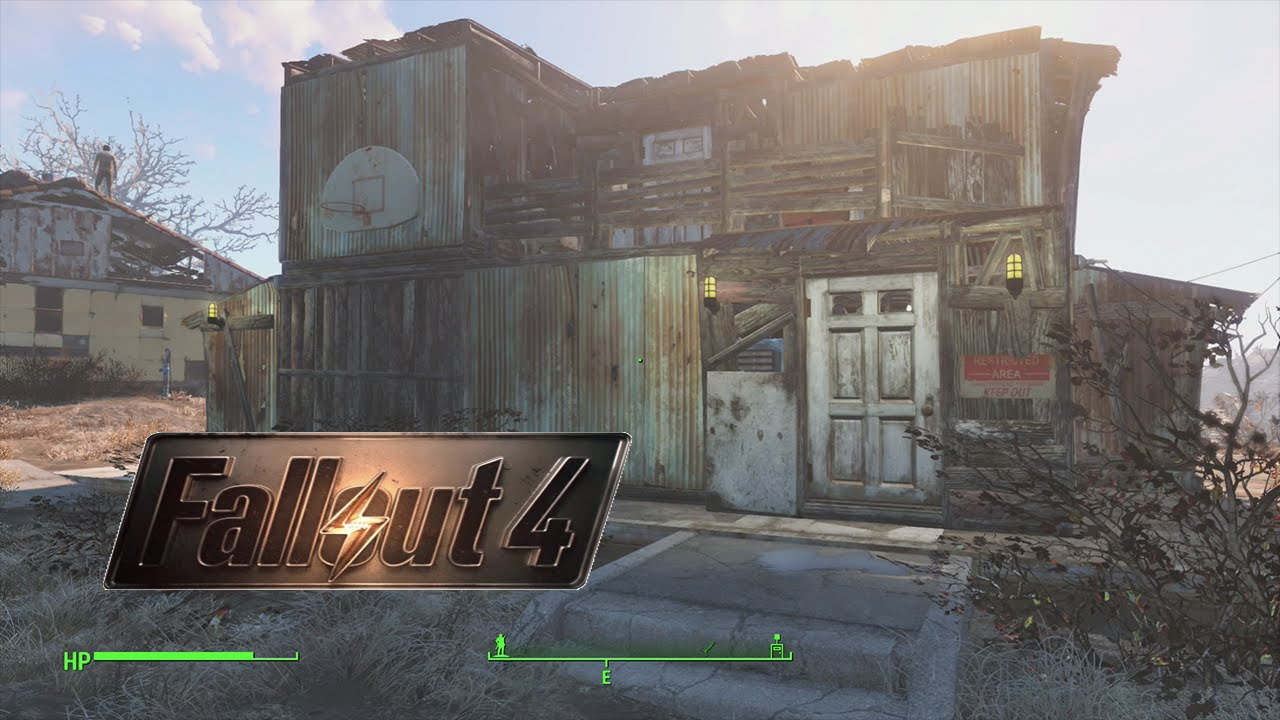 Fallout Build House Less Than Minutes Building Tutorial Youtube