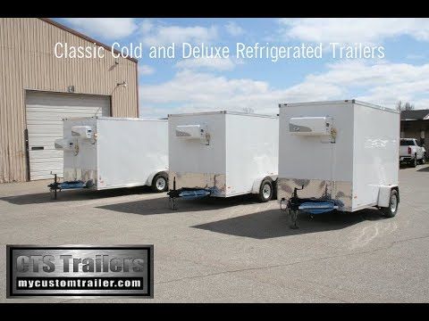 Classic Cold 7x12 Refrigerated Trailer