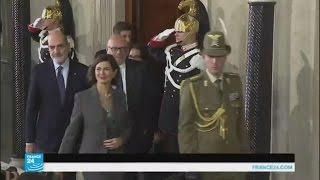 مشاورات في إيطاليا لعدم الوقوع في أزمة سياسية مرتقبة