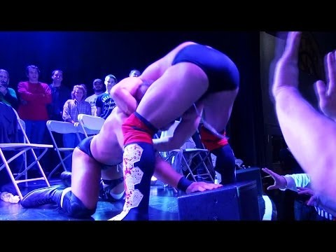 Suplex Off The Stage (Tommaso Ciampa vs. Chris Dickinson) - Beyond Wrestling #TFT2 Finals