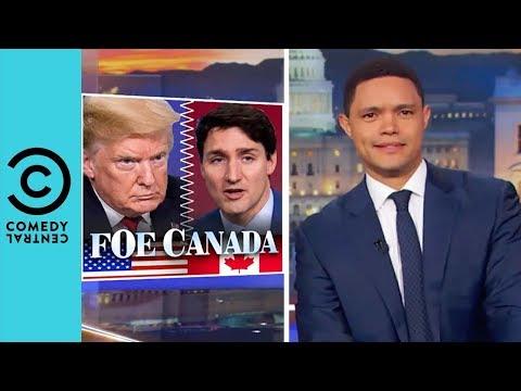 """Trump Is Going To Start A War With Canada"" 