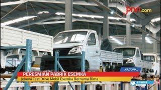 Resmikan Pabrik Esemka, Jokowi Dukung Penuh Industri Otomotif Nasional - JPNN.com
