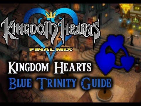 Kingdom Hearts 1.5 HD Final Mix- Blue Trinity Guide - YouTube