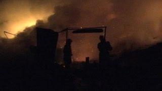 Пожар под Ярославлем: неизвестна судьба еще одного мужчины