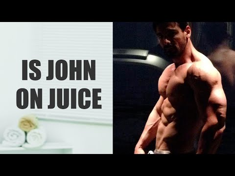 Is John Abraham on juice