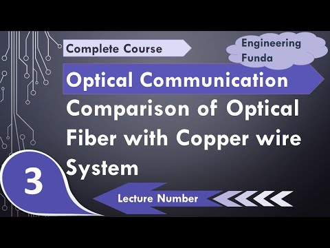 Comparison Of Fiber Optic Communication System With Copper Wire Communication System