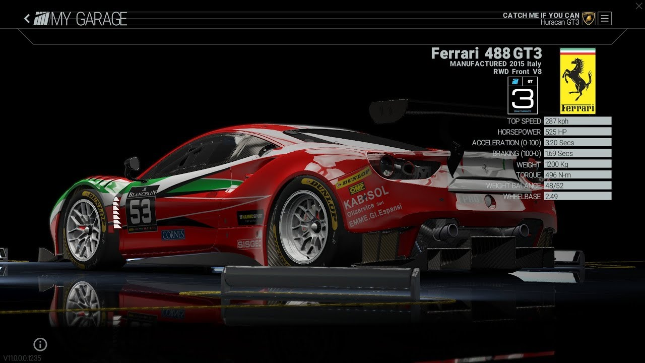 project cars 2 ferrari 488 gt3 algarve ps4 xbox one. Black Bedroom Furniture Sets. Home Design Ideas