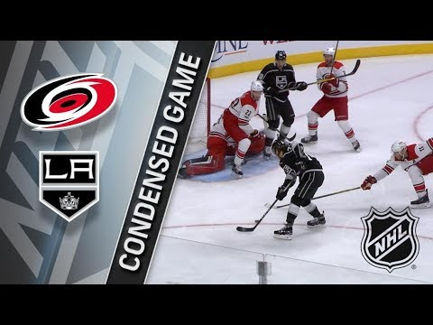 Carolina Hurricanes vs Los Angeles Kings – Dec. 09, 2017 | Game Highlights | NHL 2017/18.Обзор матча