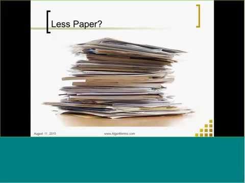 Streamlining Document Capturing & Management in EM 10 - Webinar Recording