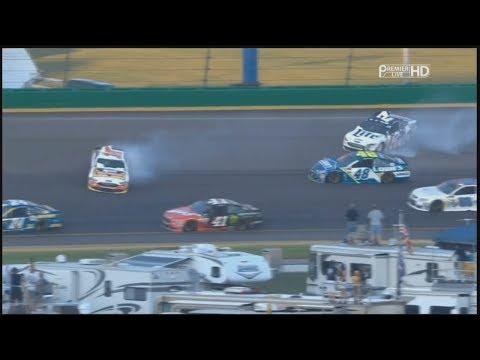 monster-energy-nascar-cup-series-2017.-kentucky-speedway.-keselowski,-bowyer-&-johnson-crash
