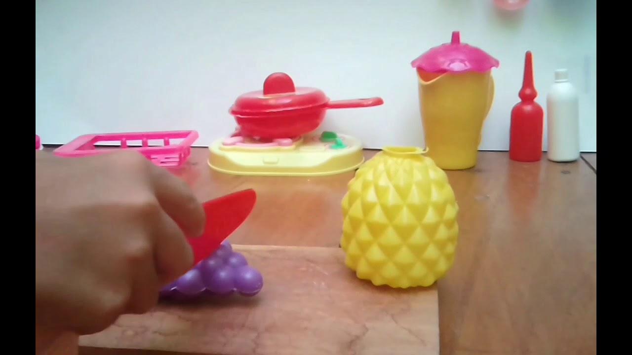 Barbie Memasak Pizza Cooking Toy Youtube