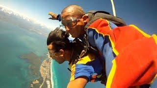 Kevin Skydive in Varadero, Cuba Mar 2014