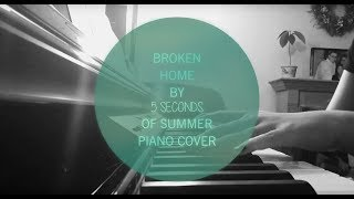 Broken Home by 5 Seconds of Summer Cover
