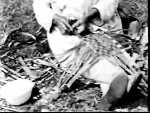 Coast Salish First Nations film clips from about 1920 made by Harlan I Smith