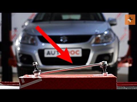 How to replaceFront Anti Roll Bar LinkonSUZUKI SX4 1 TUTORIAL | AUTODOC