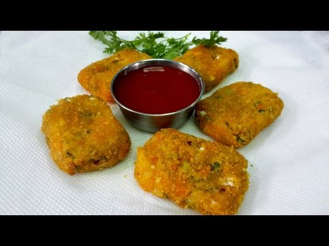 Crispy Vegetable Nuggets || Homemade Veg Nuggets recipe. || Easy, Tasty & Healthy