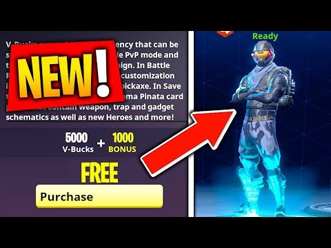 How to Get The New STARTER PACK For FREE in Fortnite Battle Royale! Unlocking Rogue Agent Free Skin