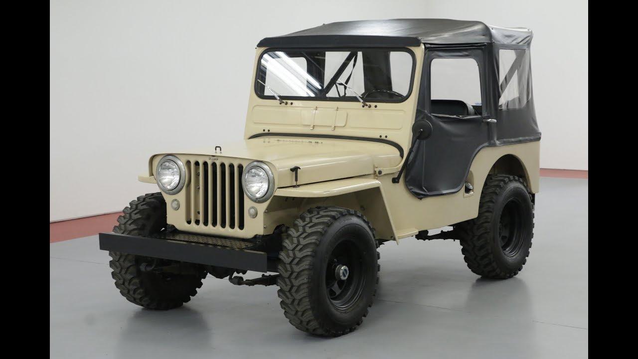 1949 Jeep Willys Cj3a Youtube