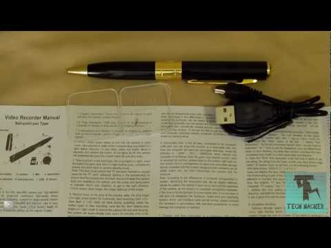 Mini HD Spy Pen Review (Hidden Spy-cam)