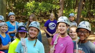 2018 Summer DARE Adventure Camp Highlight Video