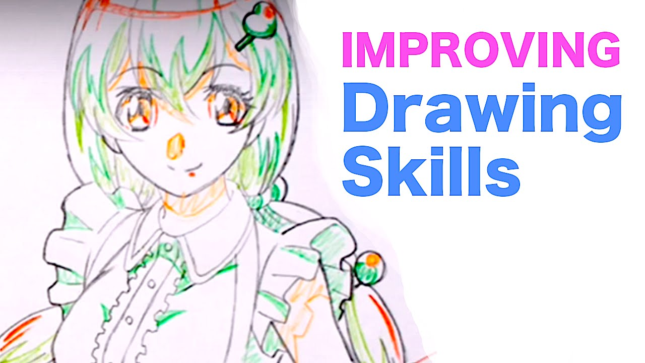 Japanese anime style drawing analysis 1|how to improve drawing skills youtube