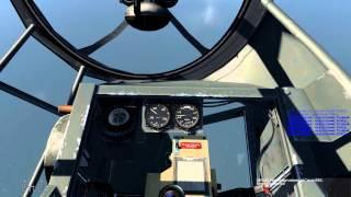 БзБ. Видеоурок 6. He-111H2, бомбометание c горизонта по кораблю.