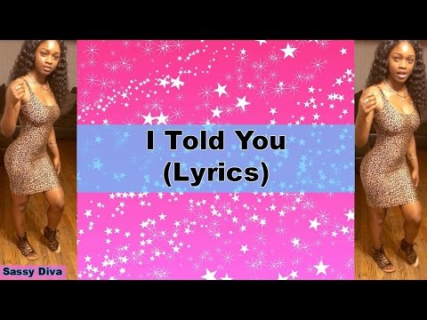 Sonta - I Told You (Lyrics)