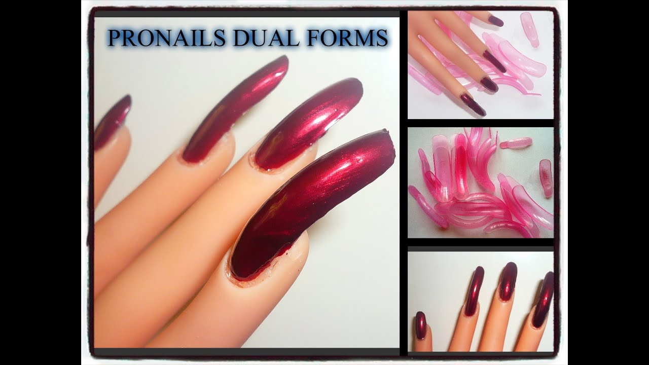 ProNails Dual Forms Review and Demo - YouTube