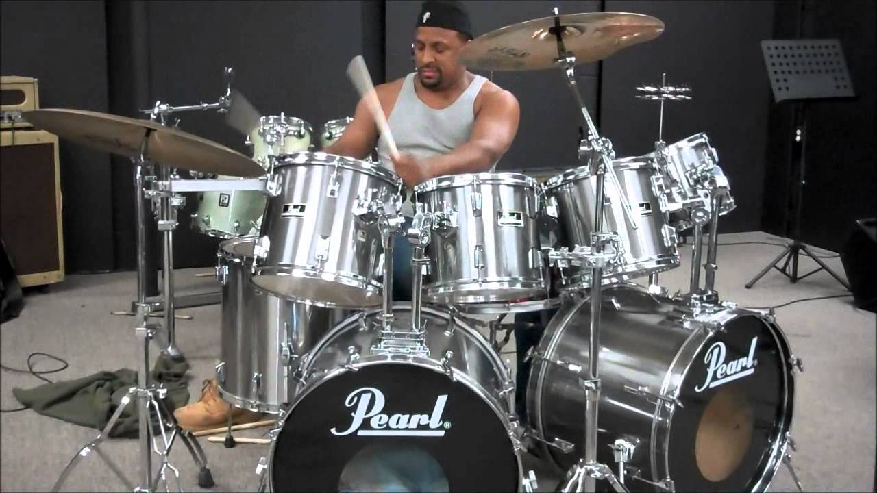 Play Pearl Double Bass Drums East Coast
