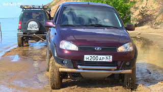 видео Лады Калины Кросс - фото, и цена на автомобиль