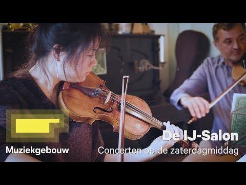 De IJ-Salon in het Muziekgebouw - kamermuziek