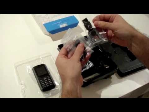 Samsung B2700 Tough Phone unboxing by UniqueMobiles.com.au
