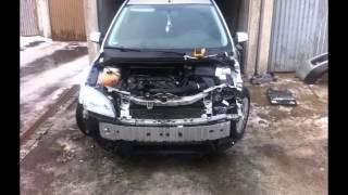 Ремонт Ford Focus после удара в обычном Гараже
