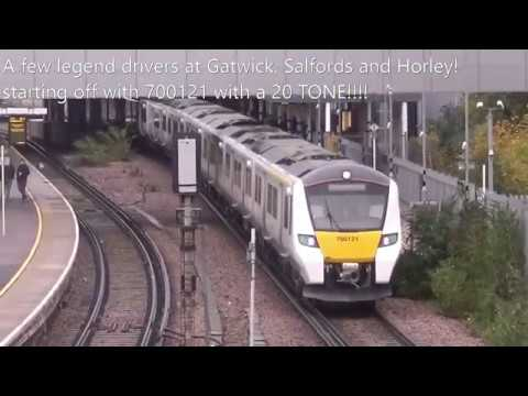 Legend Drivers at Gatwick Airport, Salfords and Horley 11/11/17