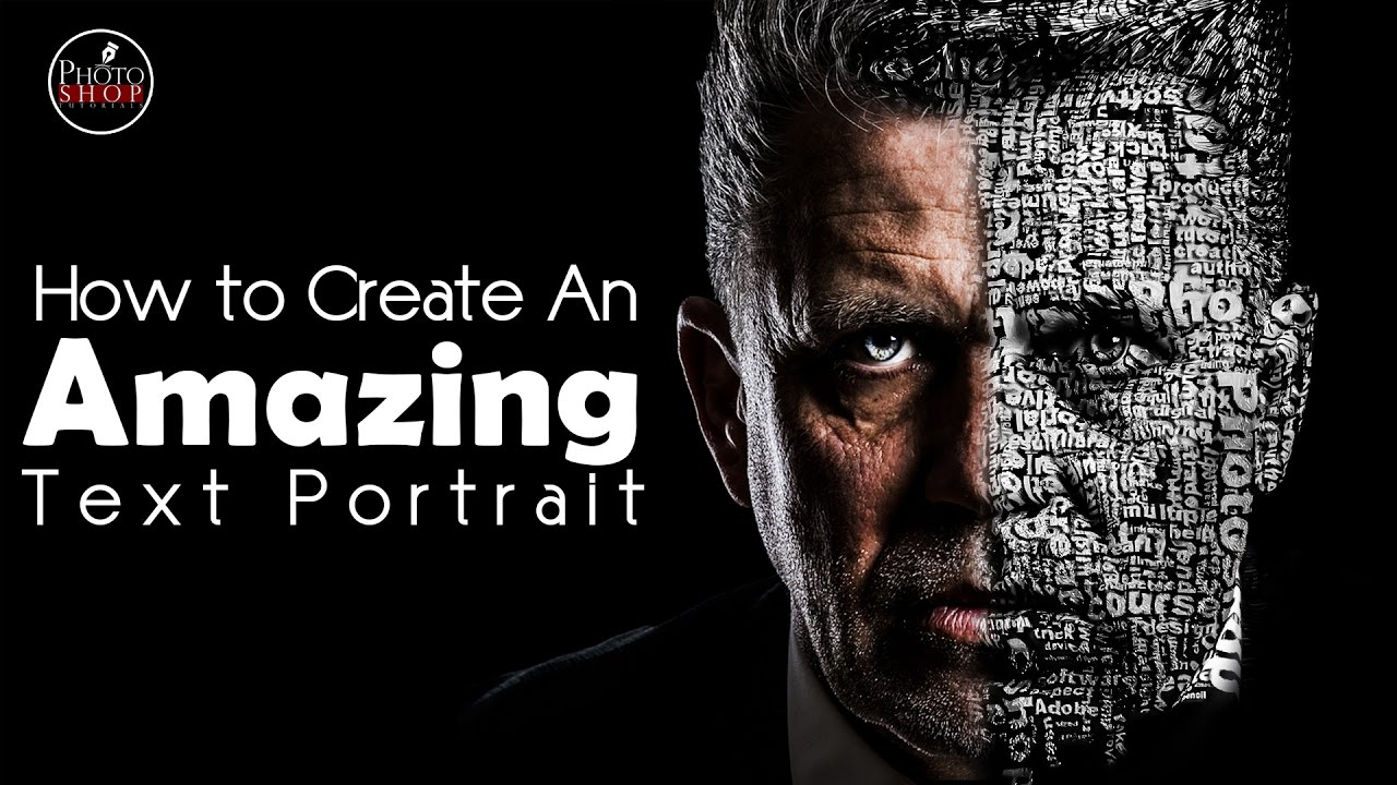 Photoshop tutorial how to create an amazing text portrait effect photoshop tutorial how to create an amazing text portrait effect baditri Choice Image